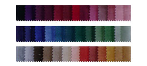 example of different colours of our soundproofing curtain you can choose from