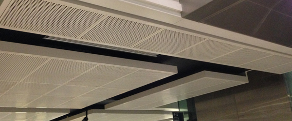 Acoustic Metal Perforated Ceilings Singapore